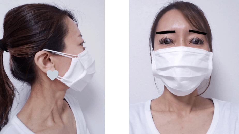 マスク装着2